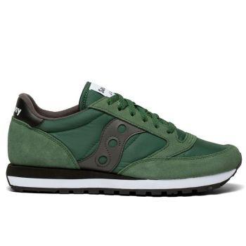 Scarpe Uomo Saucony Sneakers Jazz Original Green - Grey