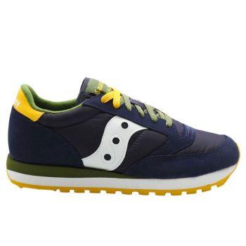 Scarpe Uomo Saucony Sneakers Jazz Original Navy - Pesto