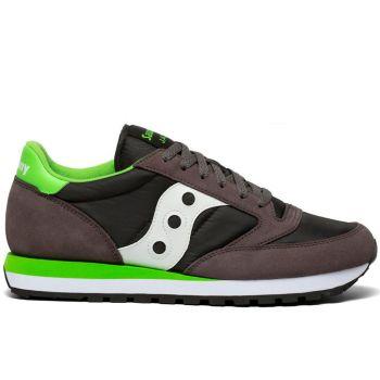 Scarpe Uomo Saucony Sneakers Jazz Original Grey - Lime