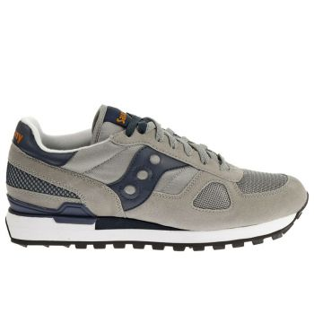 Scarpe Uomo Saucony Sneakers Shadow Original Grey - Navy