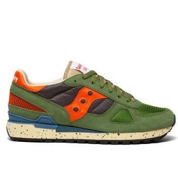 Scarpe Uomo Saucony Sneakers Shadow Original Green - Grey - Orange