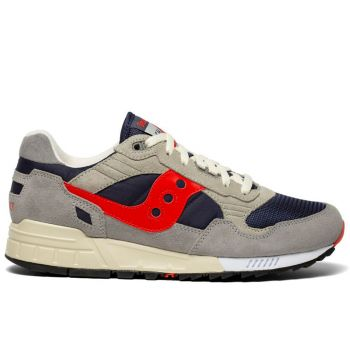 Scarpe Uomo Saucony Sneakers Shadow 5000 Vintage Navy - Red