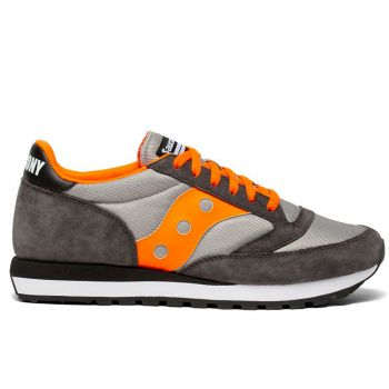 Scarpe Uomo Saucony Sneakers Jazz 81 Grey - Orange - White