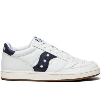 Scarpe Uomo Saucony Sneakers Jazz Court White - Navy
