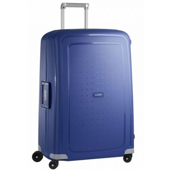 Trolley Grande 75 cm 4 Ruote Leggero 4,6 kg  - Samsonite S'Cure Dark Blue