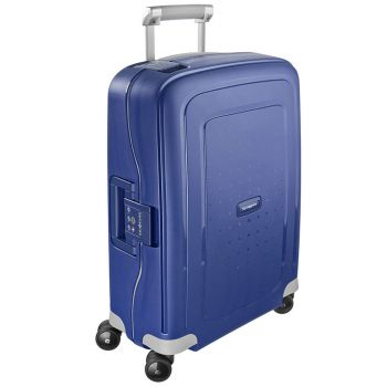 Trolley Cabina Rigido 4 Ruote 55cm - Samsonite S'Cure Dark Blue