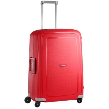 Trolley Medio 69cm 4 Ruote Leggero 4,2 kg  - Samsonite S'Cure Crimson Red