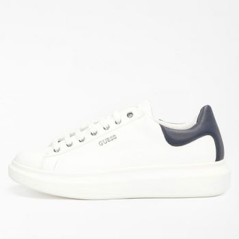 GUESS Salento Line – White and Blue Sneakers for Men