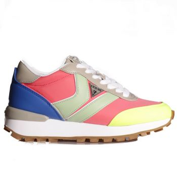 Scarpe Donna GUESS Sneakers Colore Pink - Green Linea Samsin