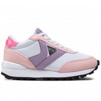Scarpe Donna GUESS Sneakers Colore Bianco - Rosa Linea Samsin