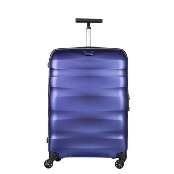 Trolley Medio 69cm 4 Ruote Leggero 3,2kg  - Samsonite Engenero Oxford Blue