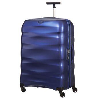 Trolley Grande 75cm 4 Ruote Leggero 3,4kg  - Samsonite Engenero Oxford Blu