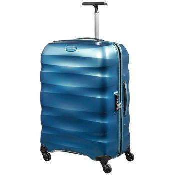 Trolley Grande 81cm 4 Ruote Leggero 4,1kg  - Samsonite Engenero Cielo Blu