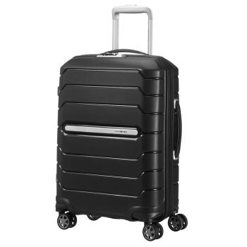 Trolley Cabina 55cm Espandibile 4 Ruote - Samsonite Flux Nero