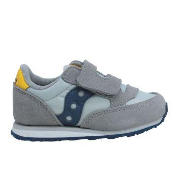 Scarpe Bambino Saucony Baby Jazz HL Grey - Blue - Yellow