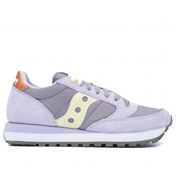 Scarpe Donna Saucony Sneakers Jazz Original Purple - Yellow
