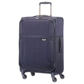 Trolley Medio Espandibile 67 cm 4 Ruote Leggero 2.3 kg - Samsonite Uplite Blu