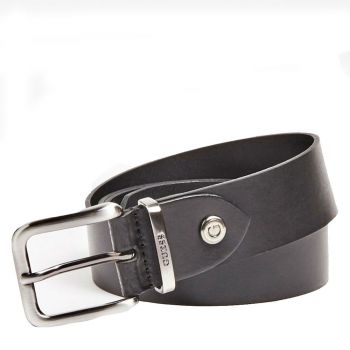 Cintura Uomo in Pelle Nera GUESS - BM7262