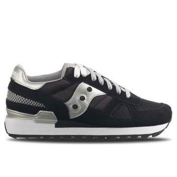 Scarpe Donna Saucony Sneakers Shadow Original Nero - Silver
