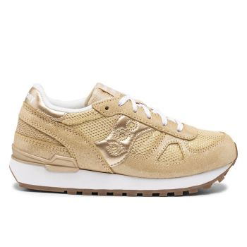Scarpe Bambina Saucony Sneakers Shadow Original Kids Gold Metallic