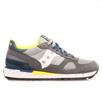 Scarpe Uomo Saucony Sneakers Shadow Original Grey - Blue - Yellow