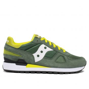 Scarpe Uomo Saucony Sneakers Shadow Original Green - White - Yellow