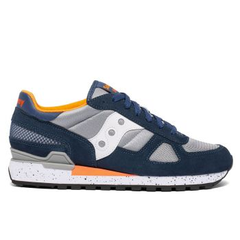Scarpe Uomo Saucony Sneakers Shadow Original Blue - Grey - Orange