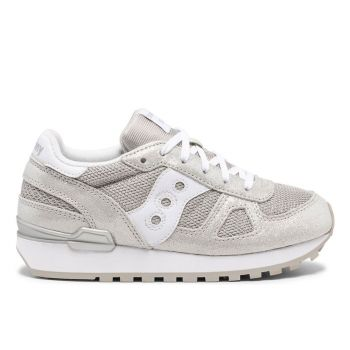 Scarpe Bambina Saucony Sneakers Shadow Original Kids Silver Metallic