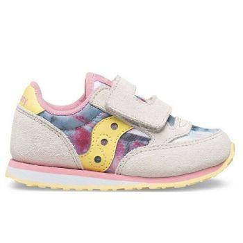 Scarpe Bambino Saucony Baby Jazz HL White - Pink Multi