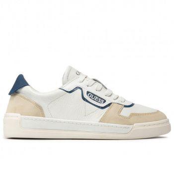 Scarpe Uomo GUESS Sneakers di colore Bianco - Blu Linea Strave