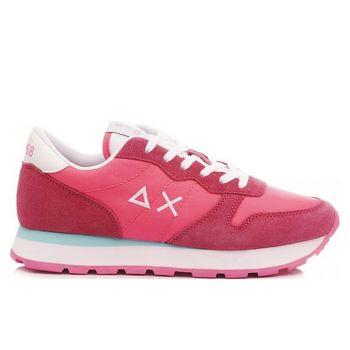 Scarpe Donna Sun68 Sneakers Ally Solid Nylon Colore Fuxia