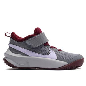 Scarpe NIKE Sneakers Bambino linea Team Hustle D 10 colore Grigio - Viola