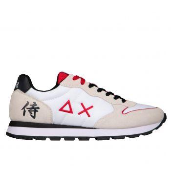 Scarpe Uomo Sun68 Sneakers Tom Japan Bianche