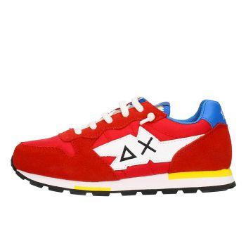 Scarpe Bambino SUN 68 Sneakers Boy's Tom Solid Multicolor Rosso