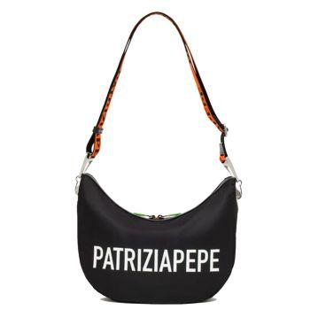 Borsa Donna a Tracolla PATRIZIA PEPE in Tessuto - 2V9892 Colore Nero