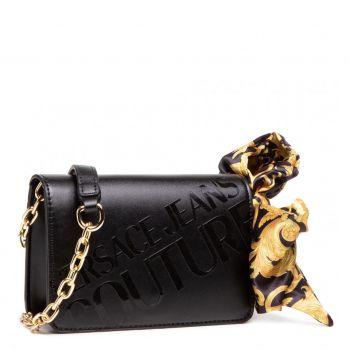 Versace Jeans Couture A Line – Medium Black Shoulder Bag For Women