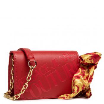 Borsa Donna a Tracolla Versace Jeans Couture linea A Colore Rosso