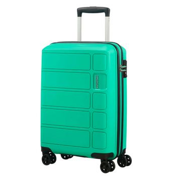 Trolley Cabina 55cm 4 Ruote 2,5kg - American Tourister Summer Splash Mint