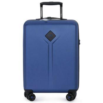 Trolley Cabina 55cm 4 Ruote Leggero 2,8 kg - Y Not? colore Midnight Blue con USB