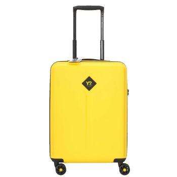 Trolley Cabina 55cm 4 Ruote Leggero 2,8 kg - Y Not? colore Giallo con USB