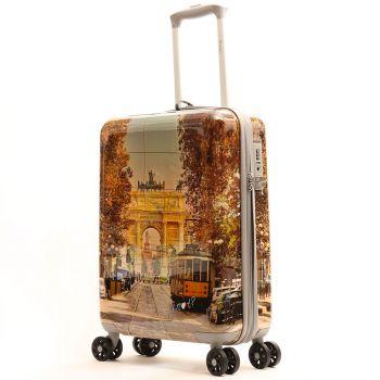 Trolley Cabina Y Not  Milan Happy Hour - Valigia 55cm Rigida 4 Ruote 2,5kg