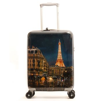 Trolley Cabina Y Not  Midnight in Paris - Valigia 55cm Rigida 4 Ruote 2,5kg
