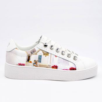 Scarpe Donna Y Not Sneakers Stampa Trulli