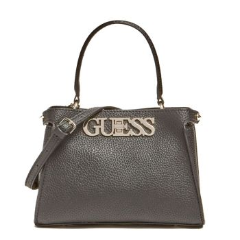 Borsa Donna a Mano Mini GUESS linea Uptown Chic Colore Nero