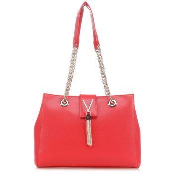 Borsa Donna a Spalla VALENTINO BAGS linea Divina Colore Rosso