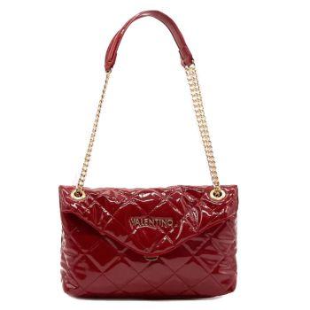 Borsa Donna a Spalla effetto Trapuntato VALENTINO BAGS linea Times colore Rosso Scuro
