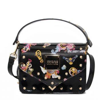 Borsa Donna a Mano con Tracolla Versace Jeans Couture Colore Nero