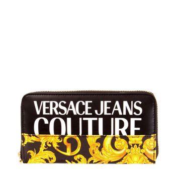 Portafoglio Versace Jeans Couture colore Nero - Gold
