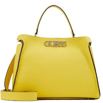 Borsa Donna a Mano Grande GUESS linea Uptown Chic Yellow