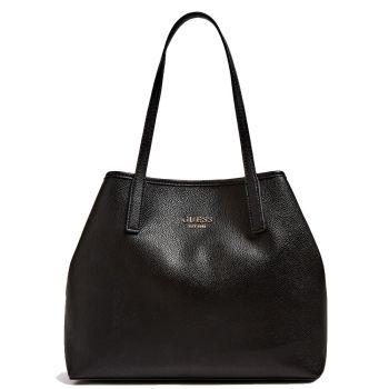 Borsa Shopper a Spalla Donna GUESS Modello Vikky Large Colore Nero